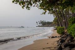 Stränderna av Maui Hawaii Arkivbilder
