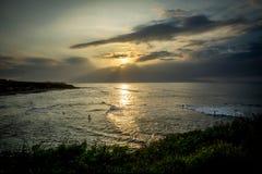 Stränderna av Maui Hawaii Royaltyfri Foto