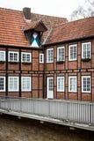 Tyskt hus Arkivfoton