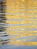 Strålar för solkatt` s på vattnet Royaltyfria Bilder