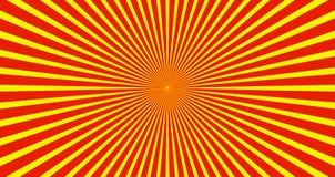 Strålar strålar Sunburst Starburst bakgrund Royaltyfri Bild