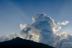 Stråle av solskenet Fotografering för Bildbyråer