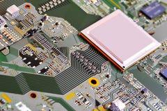 stråle för effekt för brädeströmkretsclose elektronisk upp x royaltyfria foton