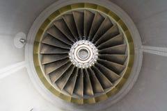 stråle för flygplandetaljmotor Arkivbild