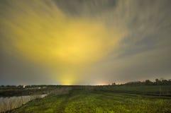 strålglans Arkivfoton