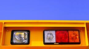 strålkastare för ljus signalering royaltyfri bild