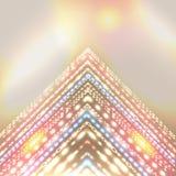 Strålningsferiebakgrund för abstrakt design. Arkivbild
