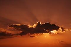 strålsun Fotografering för Bildbyråer