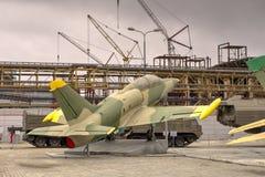 Strålutbildningsflygplanet L-39 Aero Albatros royaltyfri bild