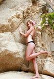 strój kąpielowy dziewczyny Zdjęcia Stock