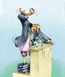 ström royaltyfri illustrationer