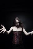 Ström av mörker Fotografering för Bildbyråer