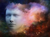 Ström av medvetenheten vektor illustrationer