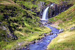 Ström och vattenfall Arkivfoton