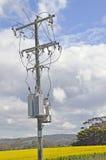 Ström Pole Arkivfoto