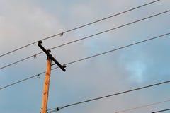 Ström Pole Fotografering för Bildbyråer