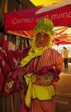 Strömbrytare för Chorley julljus på Royaltyfria Foton