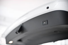 strömbrytare för kängabilclose Royaltyfria Foton