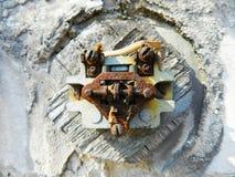 Strömbrytarefoto Arkivbild