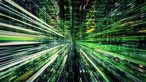 Strömen von Daten-Abstraktion 10561 stock abbildung