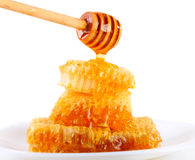 Strömender Honig lizenzfreie stockfotos