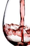 Strömender Wein lizenzfreie stockfotos