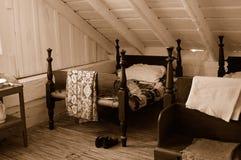 strömförande fjärdedelar för 1800s Royaltyfri Foto