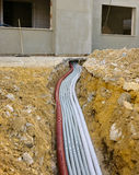 Strömförsörjning av den General Electric panelen Royaltyfri Bild