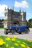 strömförsörjning för lanhydrock för british slottport Royaltyfri Fotografi