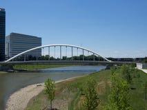 StrömförsörjningsSt-bro Royaltyfria Foton