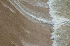 Strömflödena från höjdpunkt till bottenläget Royaltyfri Bild