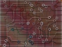 strömkrets 2 Arkivbild