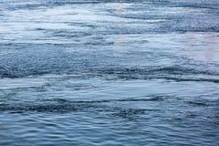 Strömmen på havet Royaltyfria Foton