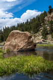 Strömspring till och med den elva mil kanjonen Colorado Royaltyfri Foto