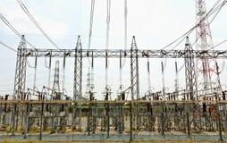 strömstation Arkivbild