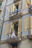 Strövtågen, Barcelona Royaltyfria Bilder