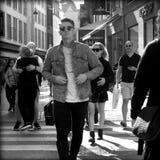 Strøget, copenhagen Royalty Free Stock Photography