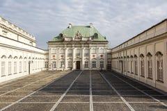 Strąka Blachy pałac w Warszawa w Polska Obrazy Royalty Free