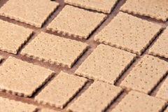Stręczycielstwo ciastka Przygotowany ciasto pyszny deser zdjęcia stock
