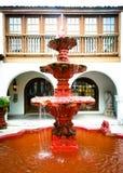 Str. Augustine: Spanischer Brunnen Stockfoto