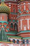 Str.-Basilikum Kirchedetail Stockfoto