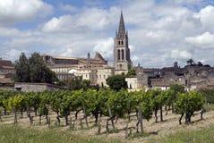 Str. Emilion, Frankreich Lizenzfreie Stockbilder