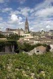 Str. Emilion, Frankreich Stockfotografie