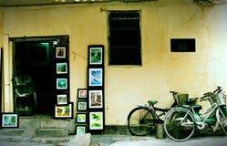 Str för Ta Hien, Hanoi, Vietnam Royaltyfria Bilder