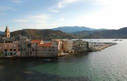 Str. Florent, Korsika Stockfotografie