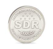 STR-het Muntstuk van het IMF stock afbeelding