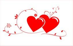 Str. Innere des Valentinsgrußes Lizenzfreie Stockbilder