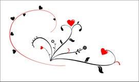 Str. Innere des Valentinsgrußes Lizenzfreie Stockfotografie