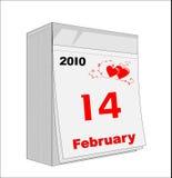 Str. Inneres des Valentinsgrußes Lizenzfreie Stockbilder