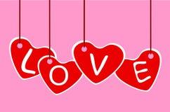 Str. Inneres des Valentinsgrußes Stockfotos